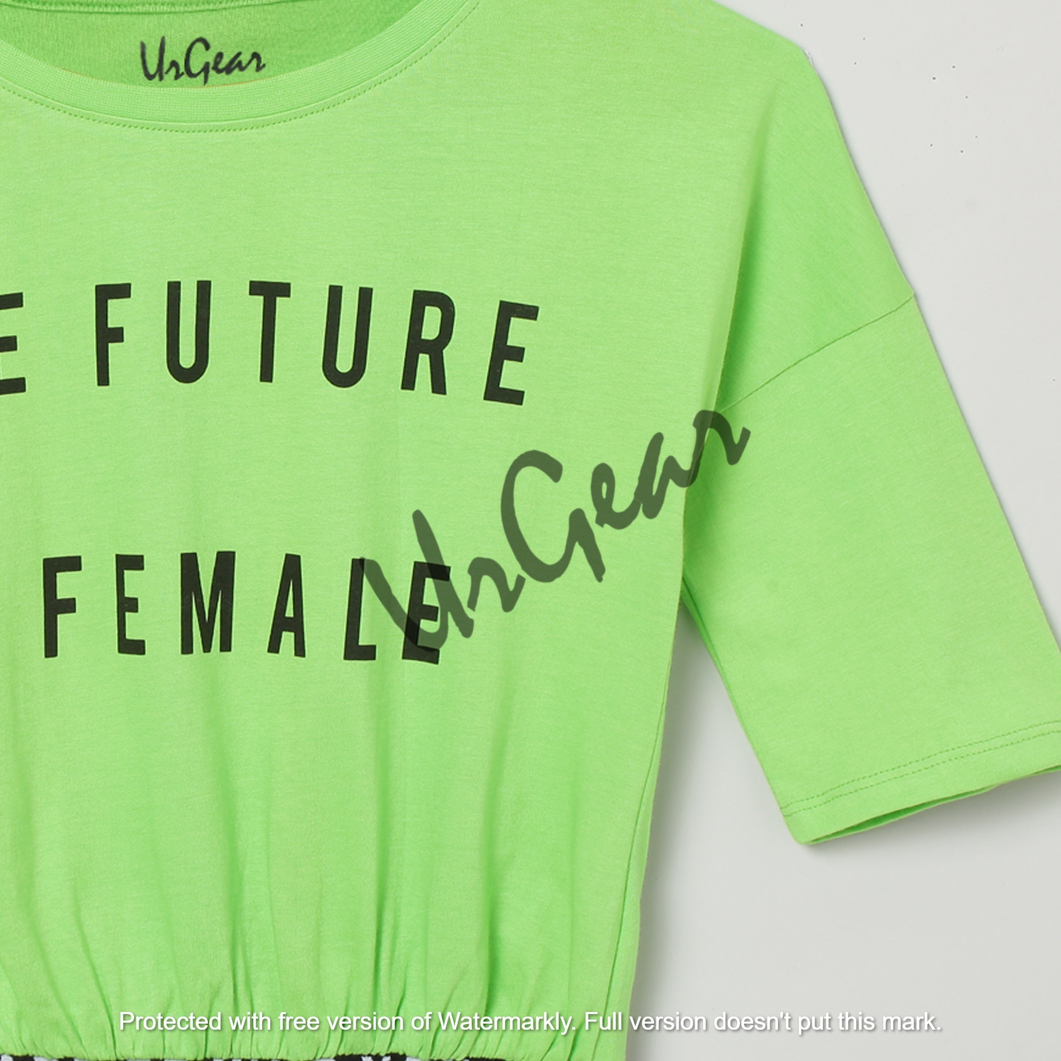 UrGear Kids Printed Pure Cotton T-Shirt
