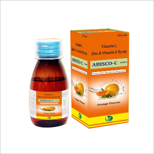 Vitamin- C With D3 & Zinc Or Strong Immunity System Syrup