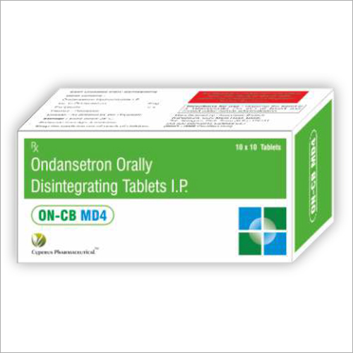 Ondansetron Orally Disintegrating Tablets IP