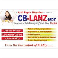 Lancoprazole 15mg Orally Disintegrating Tablets