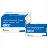 Amoxycillin And Potassium Clavulanate With Lactic Acid Bacillus Tablets