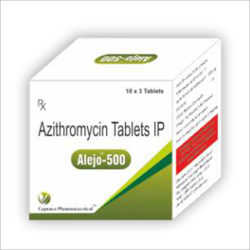 Azithromycin 500 Tablets Ip