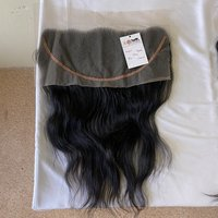 High Quality Hd Thin Lace Closure, Hd Lace Frontal Virgin Human Hair,hd 4x4 6x6 13x4 14x6 Lace