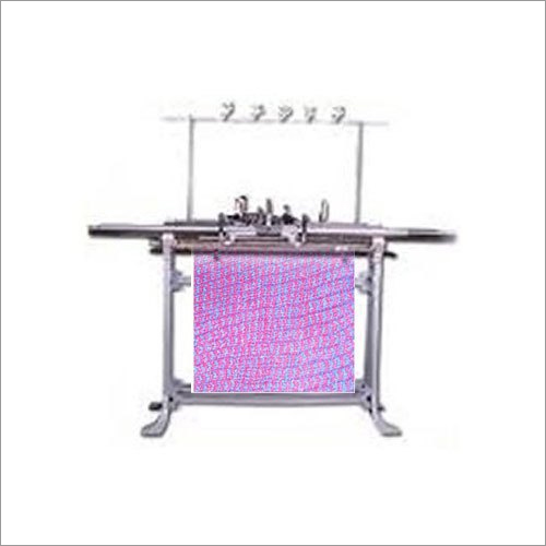 Industrial Hand Driven Flat Knitting Machine
