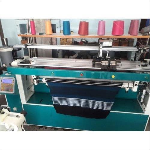 Semi Automatic Flat Knitting Machine