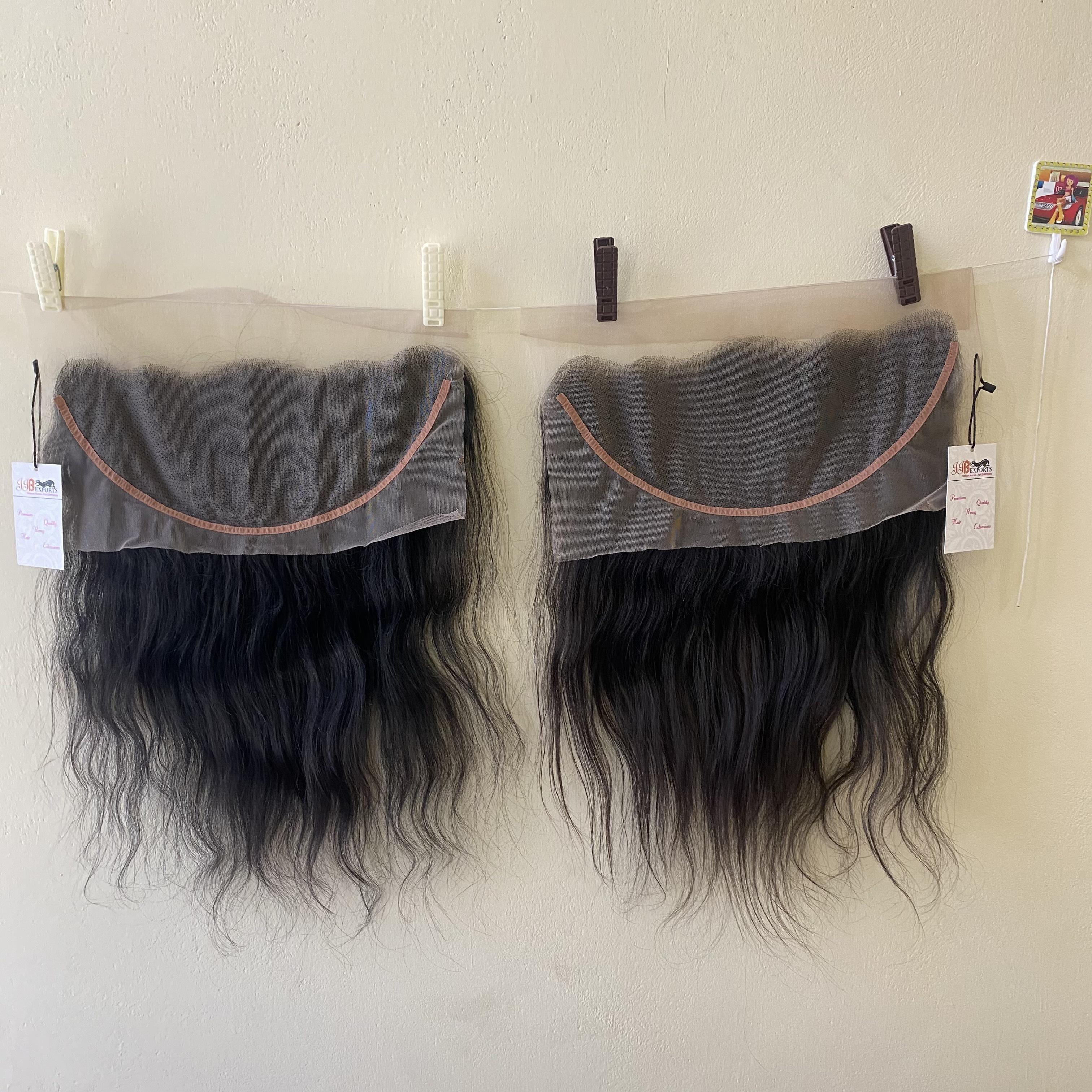 Natural Raw Virgin Hd Lace Closure Frontal 4x4 13x4 Human Brazilian Hair