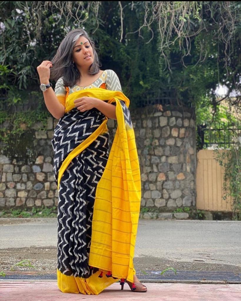 soft cotton saree