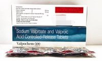 Sodium Valproate and Valproic Acid CR Tablets