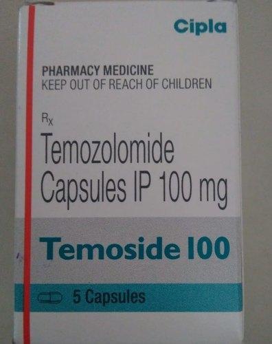 Temoside 100 , Temozolomide Capsules 100mg