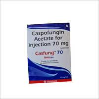 CASPOFUNGIN ACETATE 70 Injection