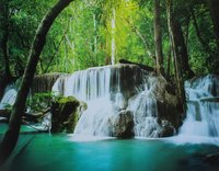 Water Fall Poster Painting