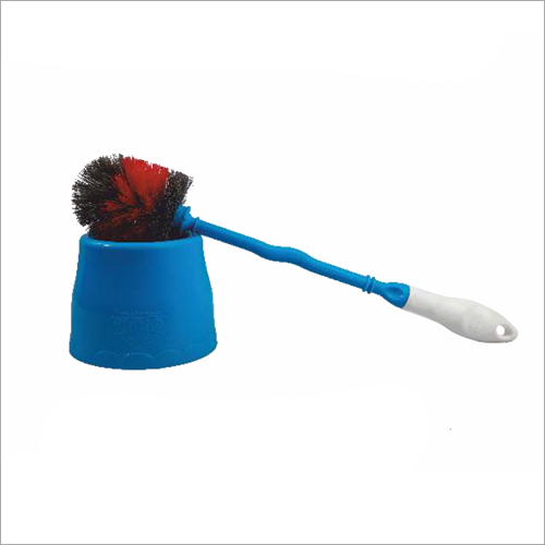Round Toilet Brush With Container