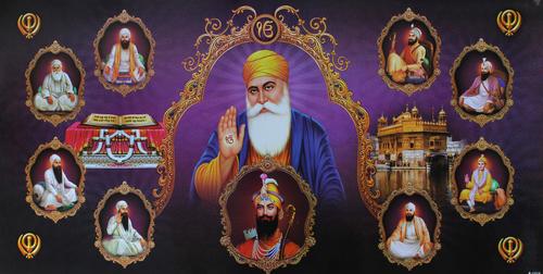 Guru Nanak Poster Painting