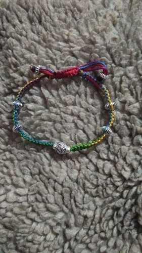 Multi Colour Thread Anklets Gender: Women