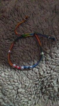 Multi Colour Thread Anklets