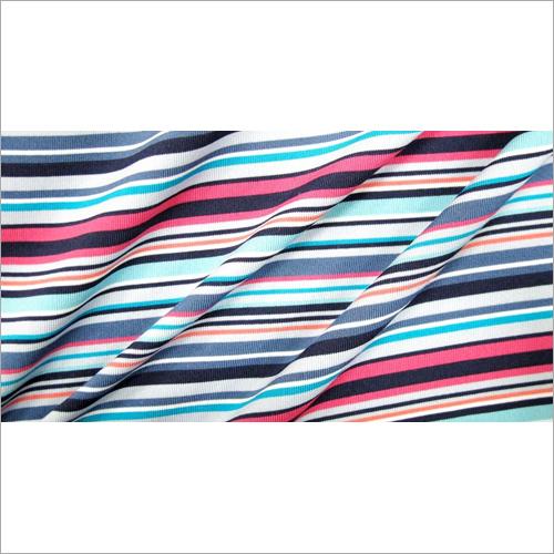 Single Jersey Auto Striper Fabric
