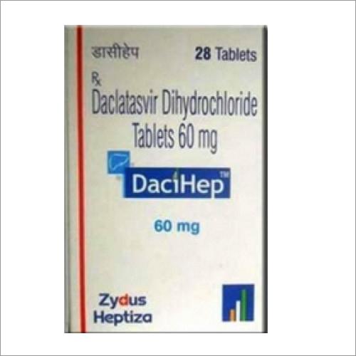 60 MG Declatasvir Dihydrochloride Tablets