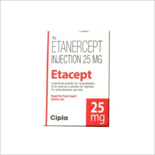 Etacept 25 Mg Injection