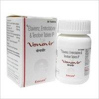 EMTRICITABINE+TENOFOVIR+EFAVIRENZ  Tablet