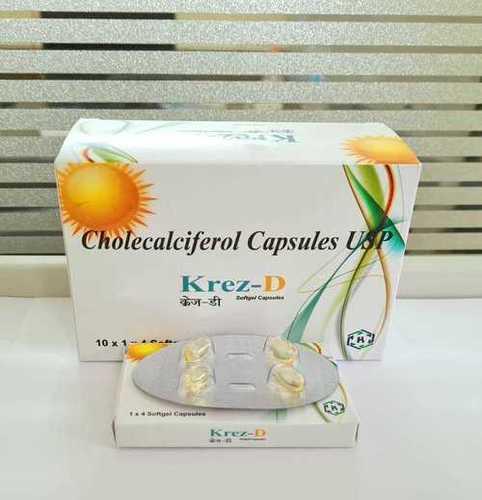 Cholecalciferol 60k Iu Softgels