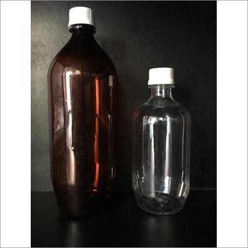 HDPE Black Phenyl Bottle