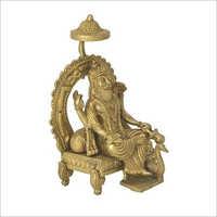 Brass Vishwakarma Statue
