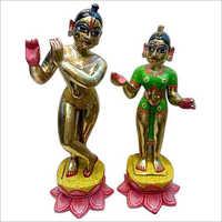 Ashtadhatu Radha Krishna Statue