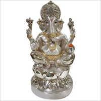 Pure Silver Ganesh Statue