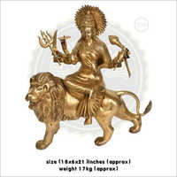 Brass Durga Ji