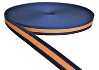 25 Mm Double Colour Niwar Tapes Ss 218 Orange & Navy