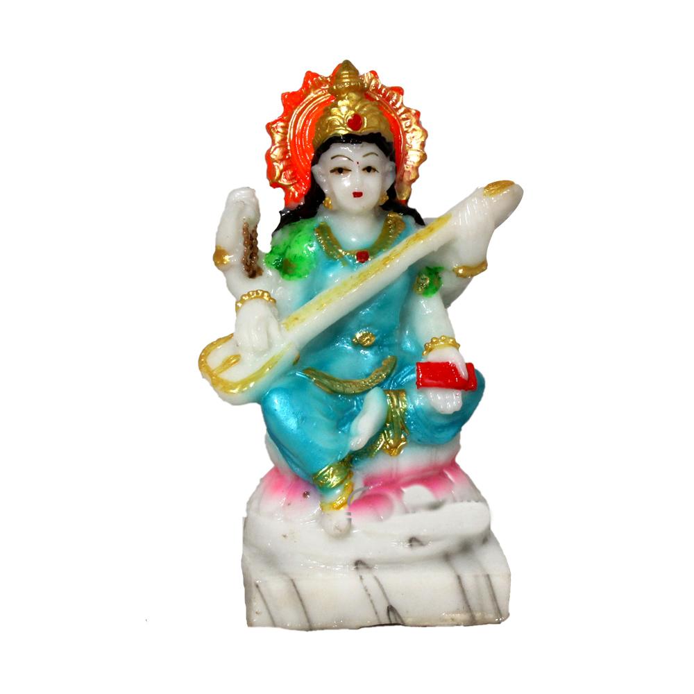 Maa Sarswati Polyresin Statue/Idol
