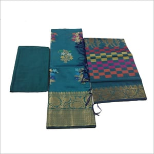 Ladies Banarasi 3 Piece Suit