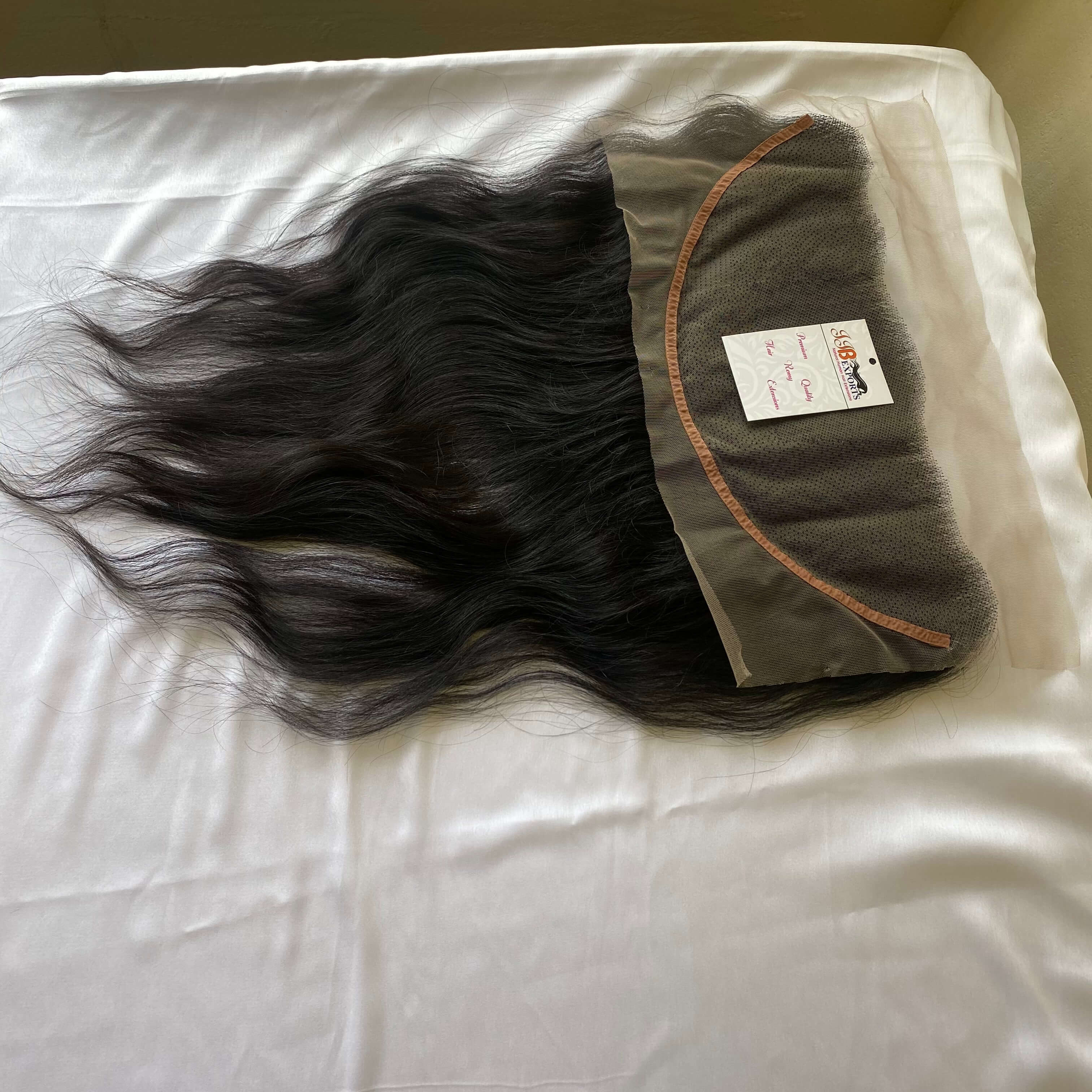 13x4 13x6 Hd Thin Lace Frontal Indian Virgin Remy  Human Hair With Closure