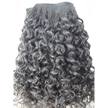Indian Jerry Curly Human Hair