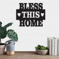 Bless This Home Interior Wall Art