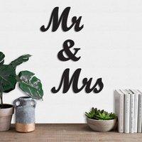 Mr. & Mrs Wall Art