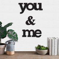 You & Me CNC Wall Hanging