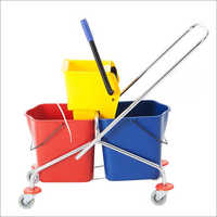 Portable Frame Mopping Trolley