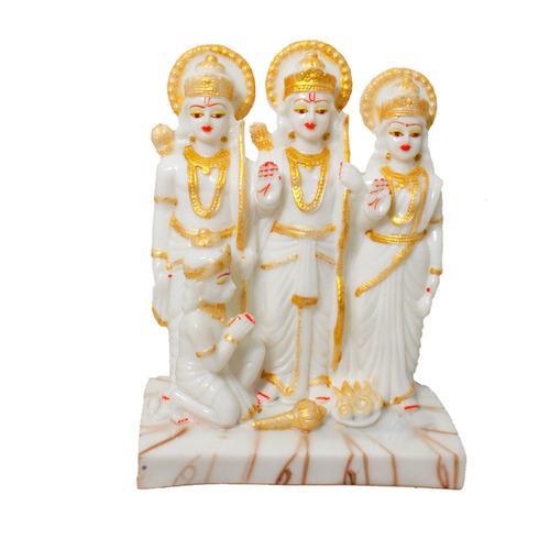 Marble Look Polyresin Ram Darbar Statue