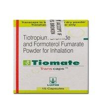 Tiomate Transcap, (Formoterol (12mcg) + Tiotropium (18mcg)