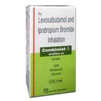 Combimist L Inhaler,  Levosalbutamol (50mcg) + Ipratropium (20mcg)
