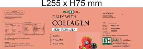 Collagen skin formula