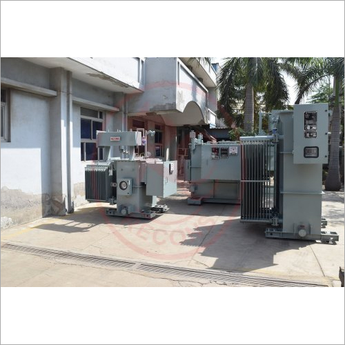 9 KV 12 KV 415 V Recons Three Phase Copper Wound Transformer With Built HT Stabilizer