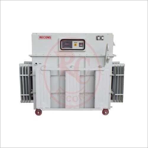 400 V 200 Kva Automatic Three Phase Variac Type Servo Stabilizer Oil Cooled