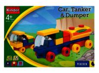 Kinder Block Tanker & Dumper Set