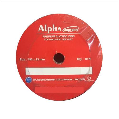 Alo Resin Paper Velcro Disc