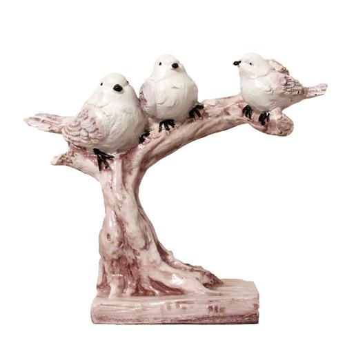 Polyresin Birds Figurine