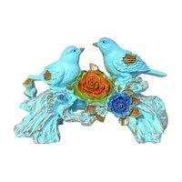 Polymarble Bird Sculpture