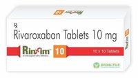 Rivaroxaban Tablets 10 Mg