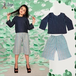 Girl Top and Shot Thread Pant